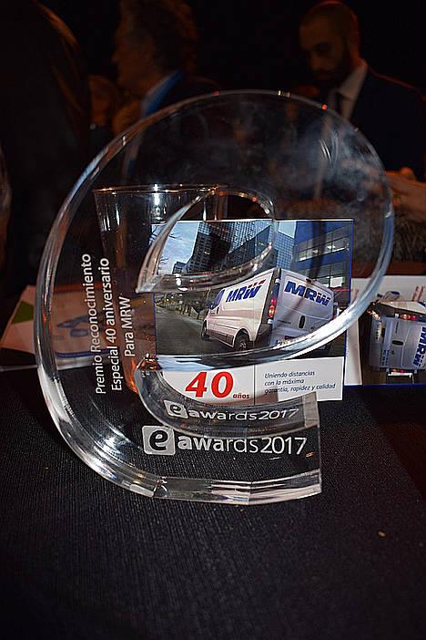 MRW premiada en los eAwards Barcelona por su trayectoria durante 40 años