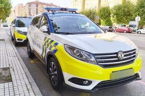 El DFSK 580 coche patrulla de la policía local de Burgos