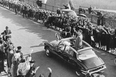 DS, 60 años al servicio de los presidentes franceses