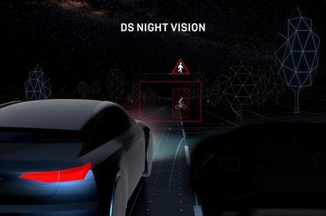 Night Vision de DS Automobiles