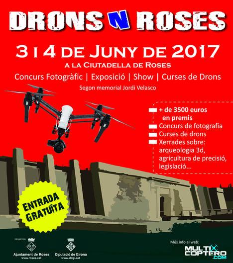 El cielo de Roses se llena de drones en un llamativo festival