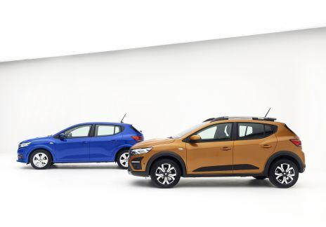 El Dacia Sandero continúa siendo el más vendido a particulares
