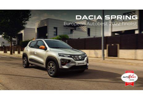 Dacia Spring, finalista autobest 2022