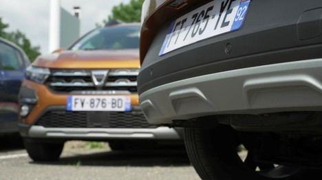 Dacia, el arma secreta contra los arañazos
