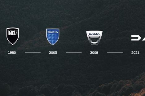 Dacia, nuevo logo, nuevo emblema, nuevos colores
