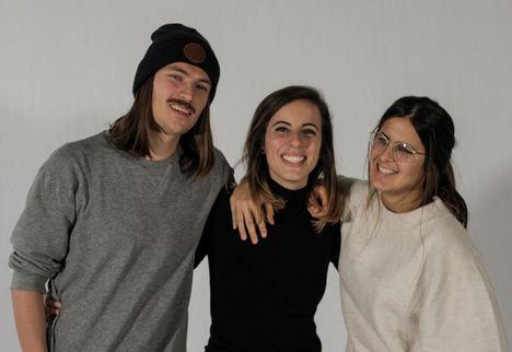 Damian Augustyniak, Marta Llaquet y Lizzie Sabin fundadores de SAYE.