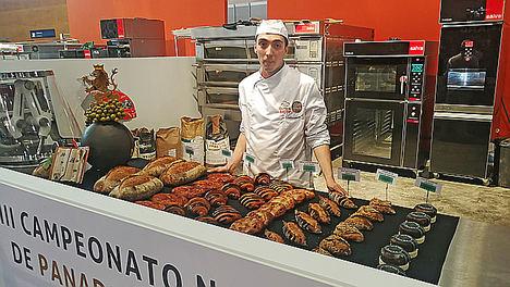 El leonés, Daniel Flecha gana el III Campeonato Nacional de Panadería en Intersicop 2019