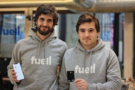Daniel Seijo, fundador de Diariomotor y Eduardo Ortiz de Lanzagorta, cofundador y Director Owl-Systems, fundadores de FUELL.