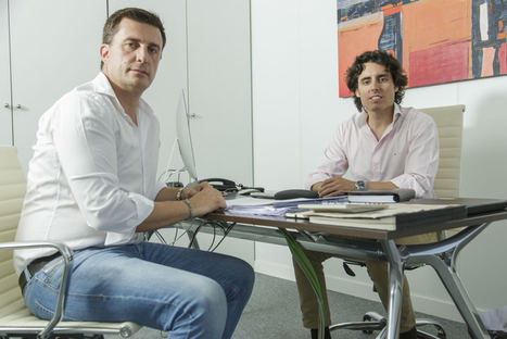 Daniel de Carvajal y Luis Martín Lázaro, socios fundadores de Luda.