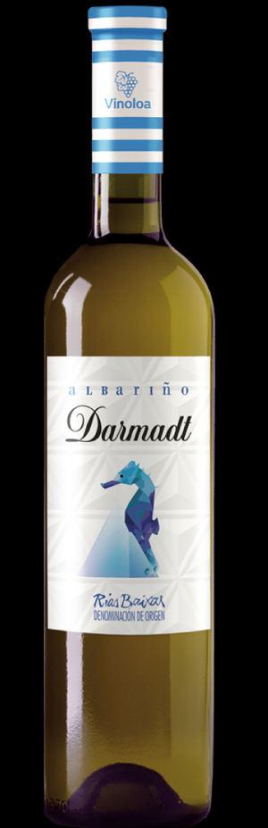Darmadt Albariño es un vino blanco 100% Albariño