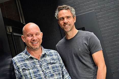 Darren Westlake y Luke Lang, cofundadores Crowdcube.
