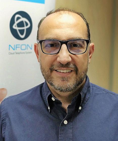David Tajuelo, NFON Iberia.