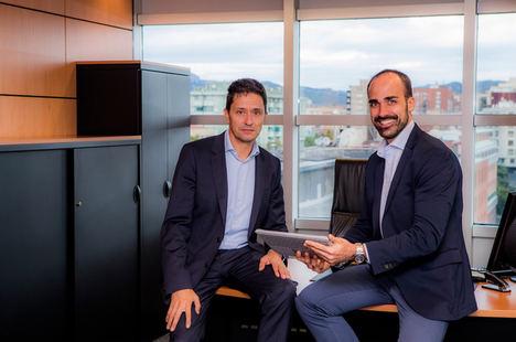 David Arderiu, CEO y Enric Blanco, Dir. Comercial ROBOTICS.