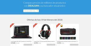 Encuentre las mejores ofertas comparando precios con Dealsan