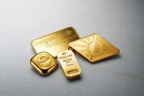 La barra de oro de 1 onza, lo más demandado por los inversores a través de la web de Degussa