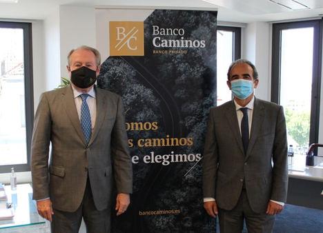 Banco Caminos y el CICCP refuerzan su trabajo conjunto por los ingenieros de Caminos, Canales y Puertos