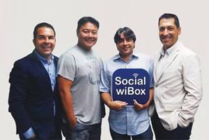 De izda a dcha: El emprendedor del sector online Carles Argemí advisor en marketing; el Business Angel , Andy Chang; Oscar Jofre Ceo y fundador; Joan Puig, Managing Partner.