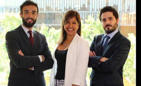 De izq. a dcha: Pau Vidal, Consultor Senior de GRC; Yazomary García, Senior Manager de Consultoría de GRC y Daniel Medrano, Consultor de GRC.