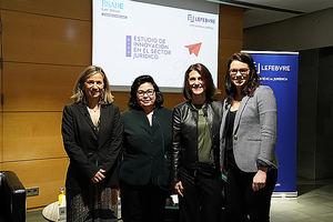 De izqda. a decha.: Eugenia Navarro, María de la O Martínez, Laura Moncosí, Isabella Galeano.