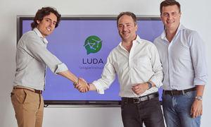 De izq a dch: Luis Martin, Fraçois Nuyts y Daniel de Carvajal.