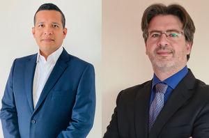 De izqda. a dcha.: Alexis Revatta y Jordi Soler, Extreme Networks.