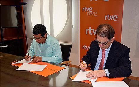 Nicaragua firma acuerdo con RTVE para la transmisión de La Princesa Paca