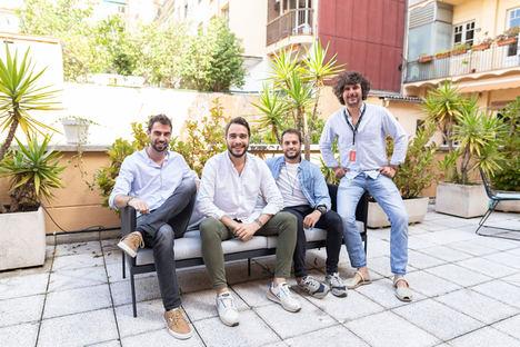 De izqda. a dcha.: Albert Segú, Carles Ribes, Jaume Noguera y Gabriel Espín, Aticco.