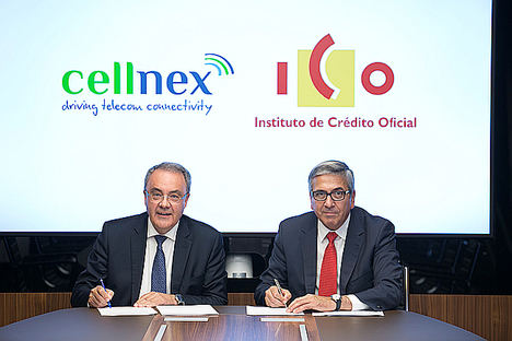 El ICO concede un préstamo de 100 millones de euros a Cellnex Telecom