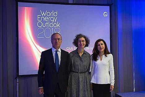 Miguel Antoñanzas analiza el futuro energético en la presentación del World Energy Outlook 2018