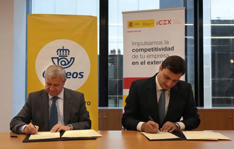 ICEX y Correos sellan un acuerdo para fomentar la internacionalización de las pymes a través del e-commerce