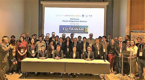 Delegacion Europea y Taiwanesa.