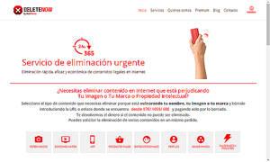 Delete Now, la revolucionaria solución para eliminar contenidos ilegales en internet de forma puntual y urgente