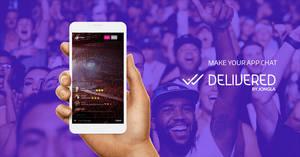 Delivered es una nueva solución de servicio de mensajería para que tengas chat en tu app!
