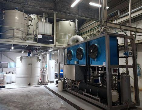 SIKA logra reducir un 65% los residuos no peligrosos de su planta de Alcobendas (Madrid)