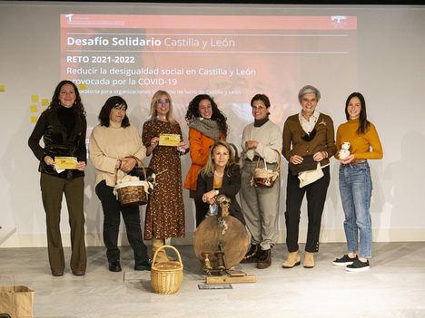 La I edición del Desafío Solidario Castilla y León premia cuatro proyectos sociales enfocados en la brecha digital y la reactivación del medio rural