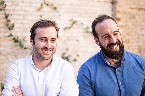 Andrés Perales y Pablo Bertolín.