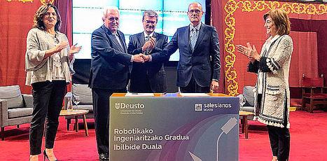 Deusto y el centro de FP de Salesianos lanzan un grado en Ingeniería Robótica con itinerario dual