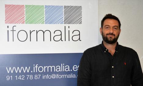 Diego Pérez, CEO de iformalia.