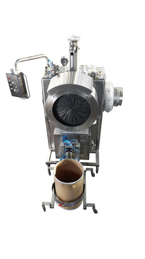 De Dietrich Process Systems presenta su nuevo sistema de acoplamiento de bidones de almacenamiento basado en la solución DIT para la manipulación segura de polvos