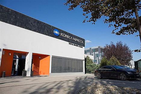 Konica Minolta abrió el Digital Imaging Square, una sala de exposición europea de impresión industrial en Bratislava