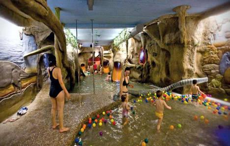 DinoSpa, aguas jurásicas con encanto infantil