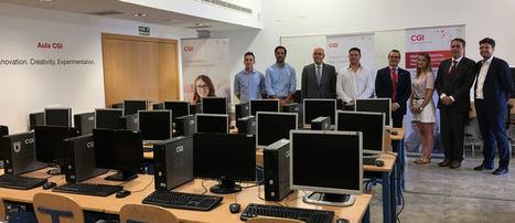 CGI dona a la Formación Profesional del IES Campanillas equipos informáticos