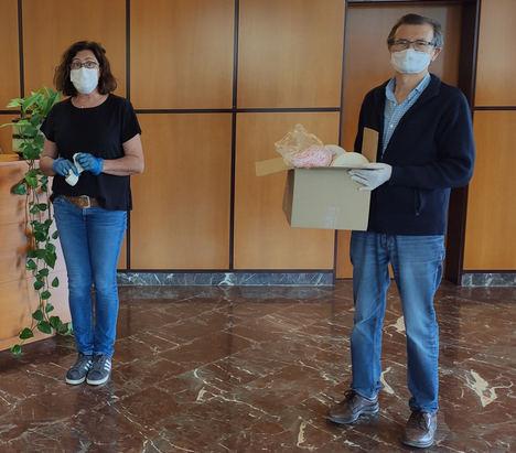 Medilast dona material a entidades locales para la fabricación doméstica de mascarillas