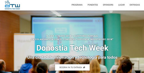 Marketing de automatización, machine learning y big data, o la gestión de talento tecnológico, entre los temas de la Donostia Tech Week