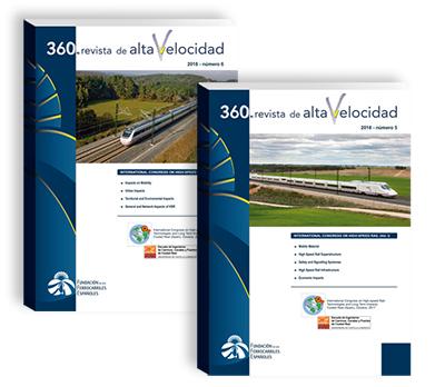 """Dos nuevos números de """"360.revista de Alta Velocidad"""""""
