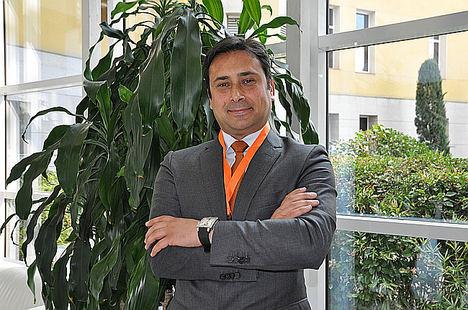 Dr. Joubin, portavoz OncoDNA.
