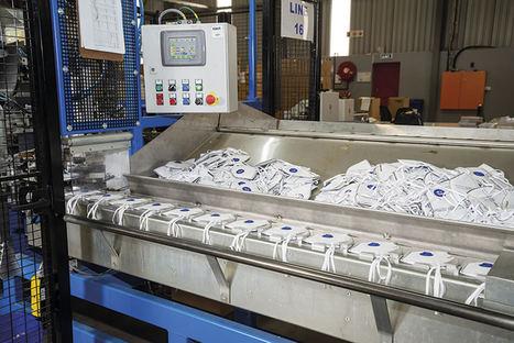Dräger amplía la producción de mascarillas FFP en Europa
