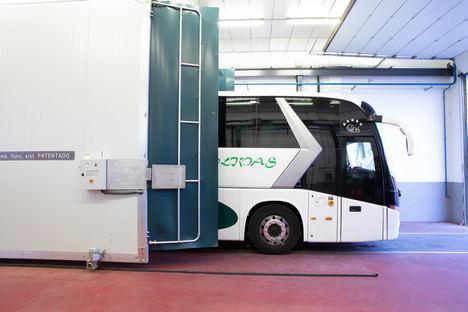 Una patente española desinfecta el transporte público para eliminar el coronavirus