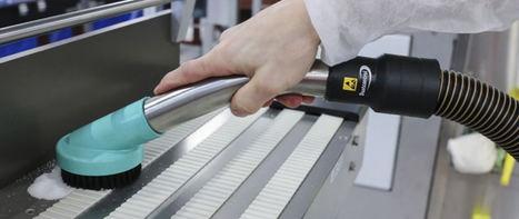 Dustcontrol revoluciona la limpieza de la industria alimentaria y farmacéutica con sus nuevos accesorios