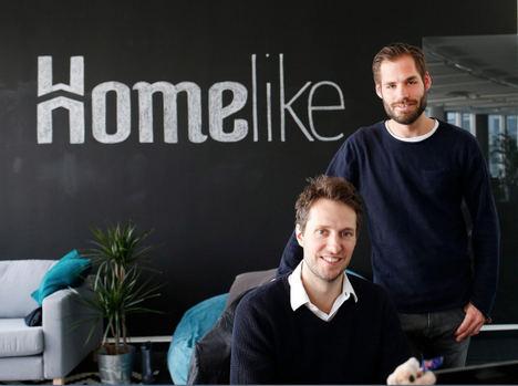 Dustin Figge y Christoph Kasper, Fundadores Homelike.